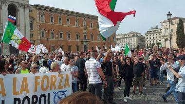 Read more about the article Grandissima Manifestazione NO NAZI PASS a Roma: più di 100 mila persone in piazza del popolo