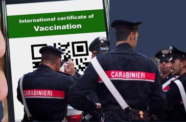 Read more about the article Carabinieri e green pass : alcune precisazioni per smorzare i malumori interni