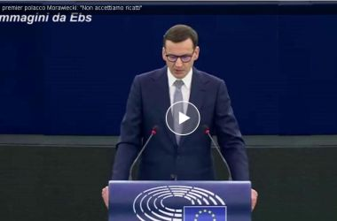 Read more about the article Brexit , Italexit e Polexit, il premier polacco Morawiecki: 'Non accettiamo ricatti'